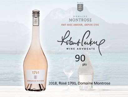 1701 Domaine Montrose 90 pts Wine Advocate