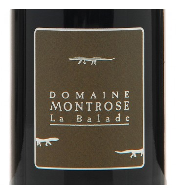 Etiquette La Balade - Domaine Montrose