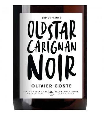 Etiquette Carignan Noir, Old Star