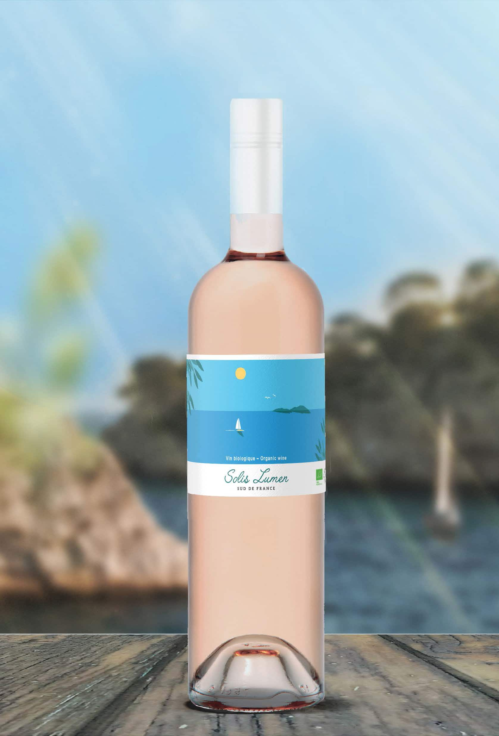 Gamme de vins Solis Lumen